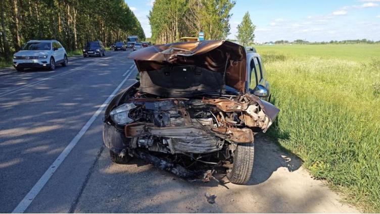 73-летний водитель попал в аварию под Вологдой