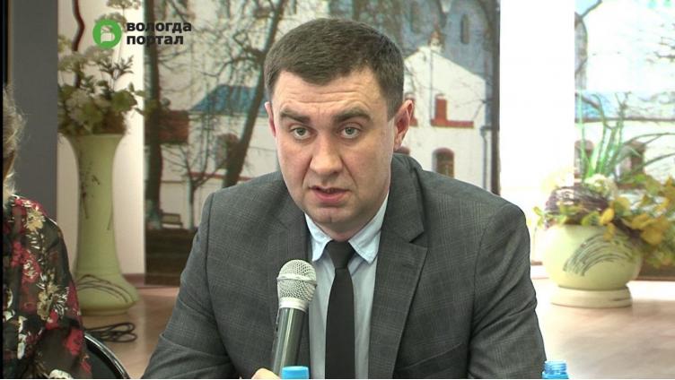Павел Блинов назначен и.о. начальника Департамента городского хозяйства Вологды