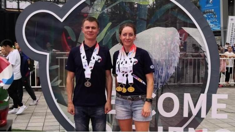 Вологодские полицейские привезли медали из Китая