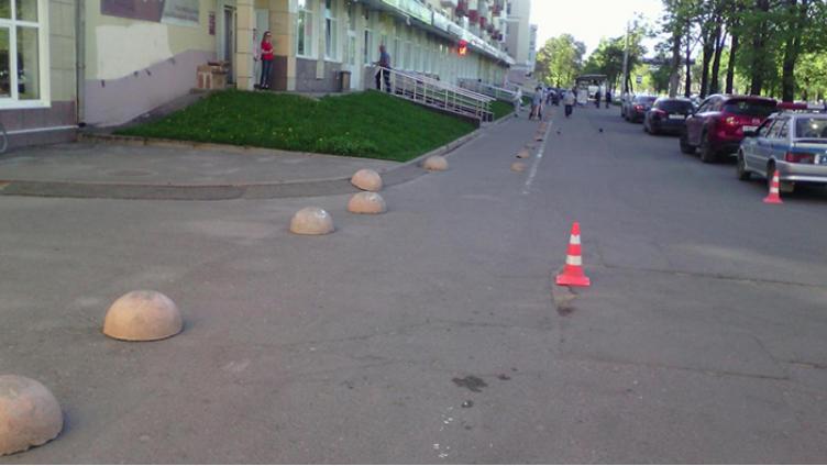 Водитель «Рено» сбил пешехода в центре города