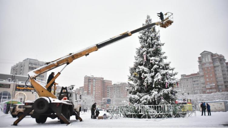В новогодние каникулы на пл. Федулова будет зона бесплатного Wi-Fi