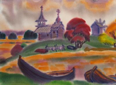«Акварельные дожди» пройдут в доме Корбакова