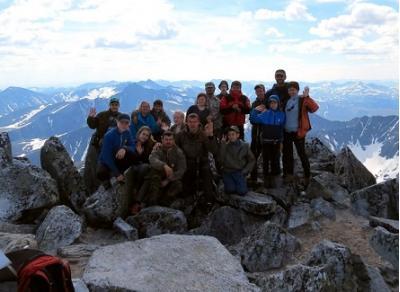 Вологодские школьники покорили вершину Уральских гор