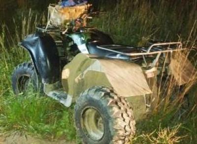 Водитель квадроцикла погиб в Кирилловском районе