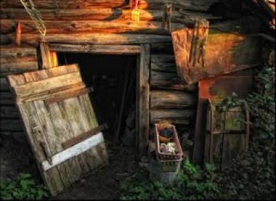Вологжанин хранил тело матери в сарае
