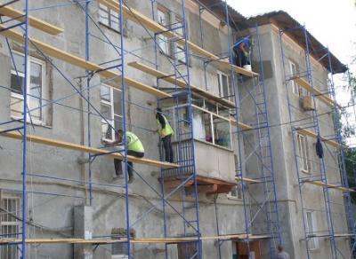 В нескольких домах Вологды проходят ремонты