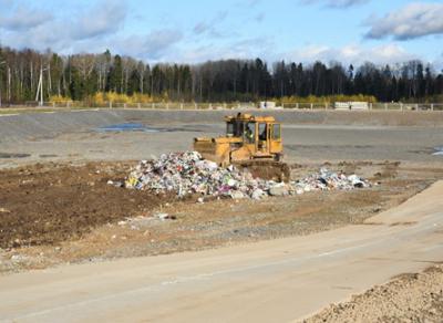 На полигоне в Пасынково стартовал прием твердых коммунальных отходов
