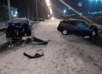 5 человек пострадало в ДТП из-за снежного заноса