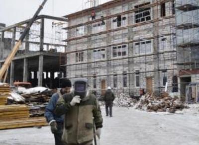 В школе на улице Северной начались отделочные работы