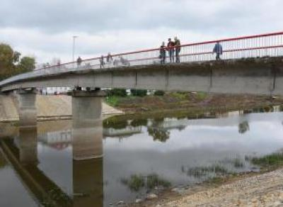 В ноябре на Красном мосту появится освещение