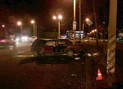 В ДТП на Чернышевского вологжанка получила тяжелые травмы