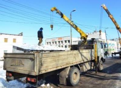 До конца недели в Вологде снесут 100 незаконных ларьков