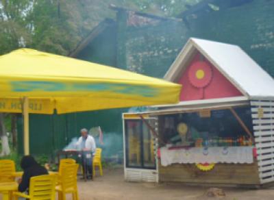 Кафе открылось в сгоревшем здании в центре Вологды