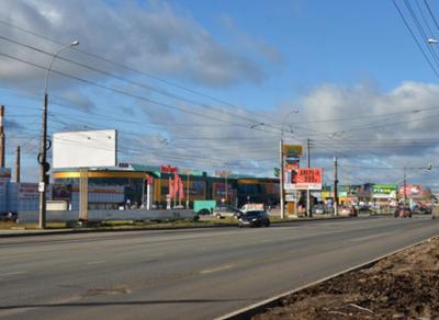 Стало проще повернуть с Окружного шоссе на улицу Гагарина
