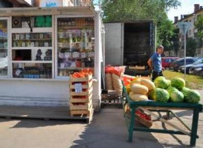 В Вологде взялись за продуктовые ларьки