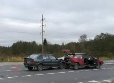 В ДТП на трассе Вологда— Новая Ладога пострадали трое