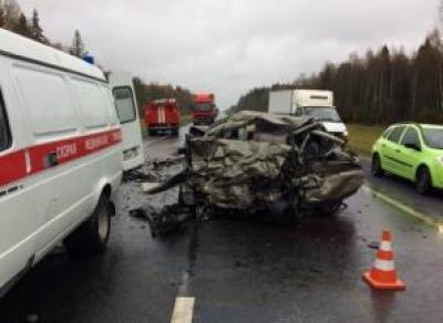 Под Соколом в тройном ДТП погибло 3 человека, 4 госпитализировано