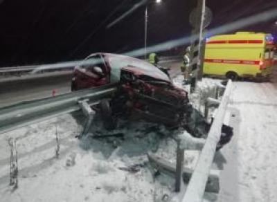 ДТП под Череповцом: водитель в больнице