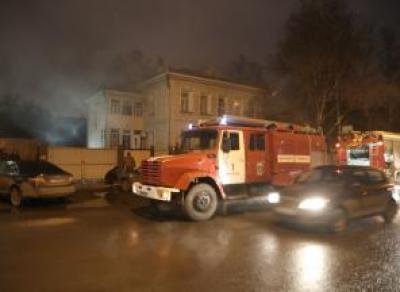 В центре Вологды горел дом за 40 миллионов рублей