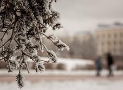 На этой неделе обещают морозную и ветреную погоду