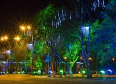 До 20 декабря Вологду украсят к Новому году