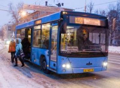 В новогоднюю ночь проезд на общественном транспорте станет дороже