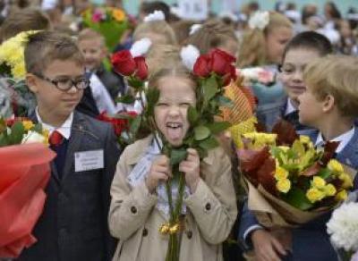 «Бум» первоклассников в Вологде