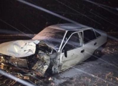 Лобовая авария под Вологдой: пострадала женщина