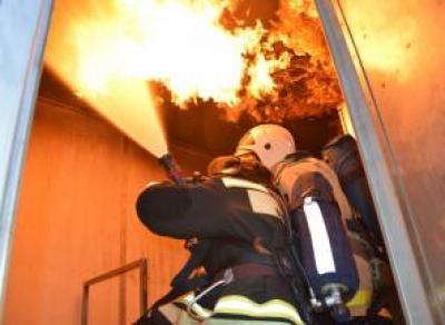 Пожар в многоэтажке на ул. Ленинградской
