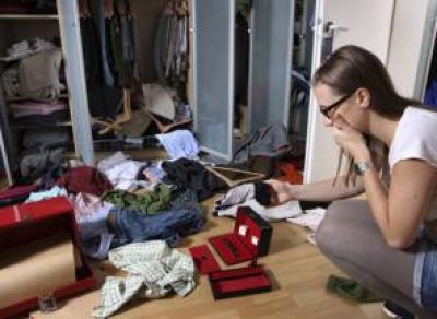 Вологжанка за одну ночь обчистила съемную квартиру