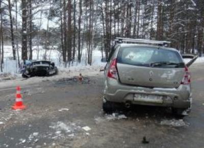 Лобовое столкновение в Кадуйском районе: трое пострадавших