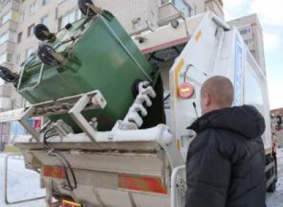 На Вологодчине в праздничные дни будут своевременно вывозить мусор