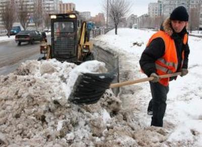 За зиму с улиц Вологды убрали 150 тысяч кубометров снега