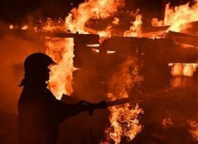 В Вологодской области на пожаре погибла 70-летняя женщина