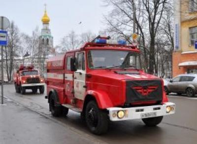 Пожар на улице Чехова