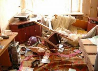 В Вологде пьяный студент устроил разгром в общежитии