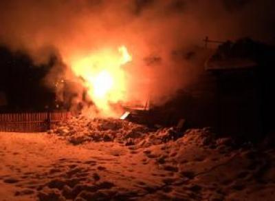На Вологодчине во время пожара погиб мужчина и двое детей