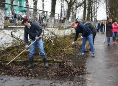Объявлена дата общегородского субботника в Вологде