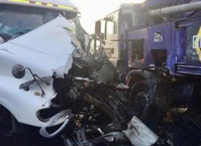 Вчера в Вологде произошло серьезное ДТП с участием большегрузов