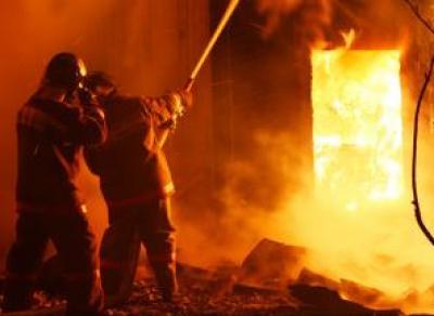 В Вологде ночью горела сауна