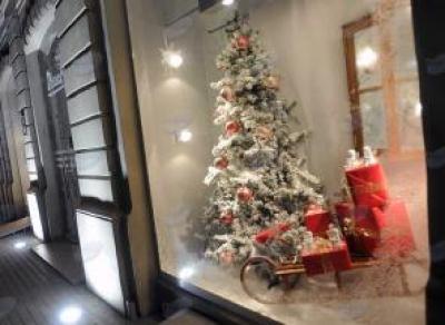 Самая красивая новогодняя витрина