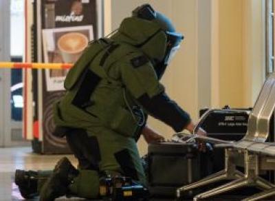 Череповчан напугал чемодан