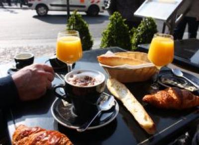 Как завтракают во Франции