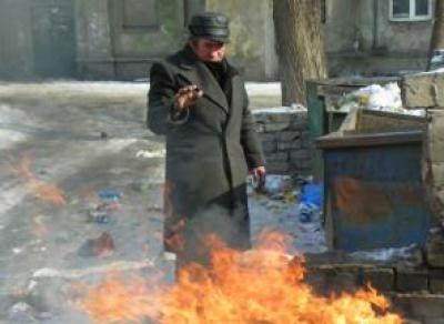 В Череповце бездомный устроил пожар