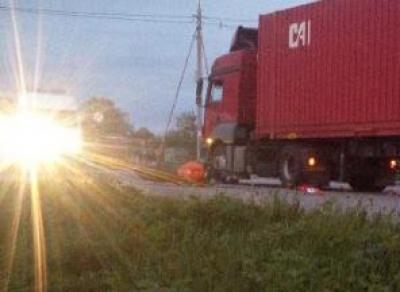 В Белозерске погиб мотоциклист