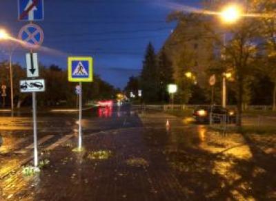 Иномарка сбила ребенка на улице Герцена