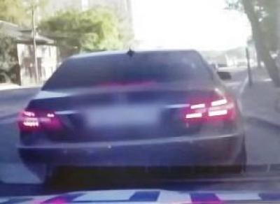 Лихача на «Мерседесе» поймали в Вологде