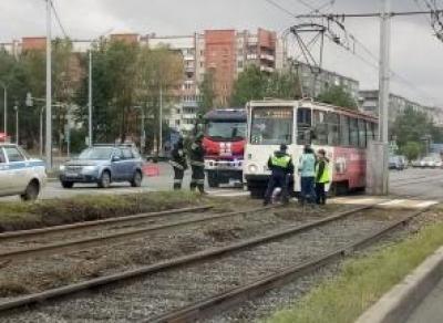 Трамвай сбил пенсионерку в Череповце