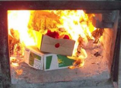 Больше 20 кг санкционных продуктов уничтожили в Вологде