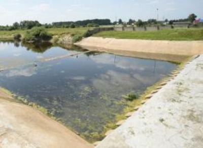 В реке Вологде падает уровень воды